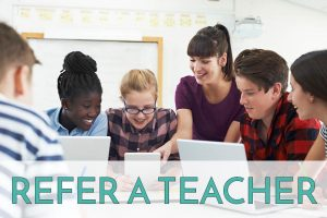 Refer a teacher